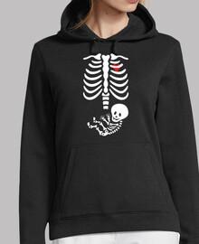 schwangeres Skelett baby Boy