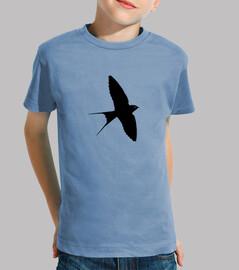 schwarz schwalbenschwanz (kind)