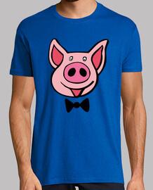 schwein, milch savoy-t-shirts