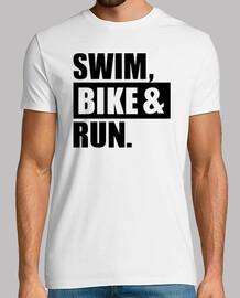schwimmen fahrrad laufen