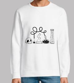 science - simple sweatshirt