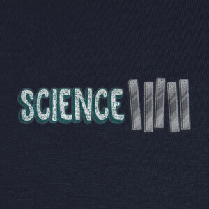 T-shirt Science Rules