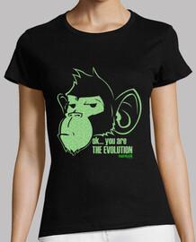 scimmia evoluzione verde