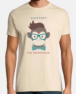 scimmia hipster