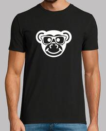 scimmia nerd