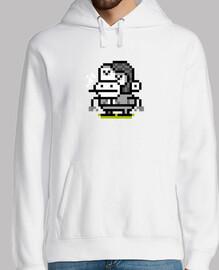 scimmia pixel art