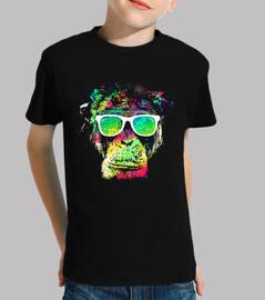 scimmia technicolor
