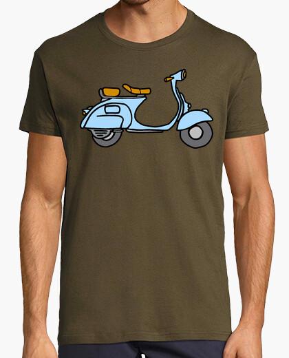 Tee-shirt scooter