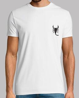 Scorpio. Camiseta chico estampado delante y detrás.