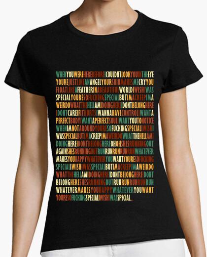 T-shirt scorrimento - radiohead