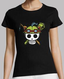 scout pirata - t-shirt donna