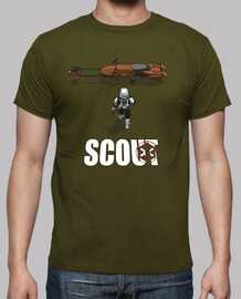 scout trooper - shirt man