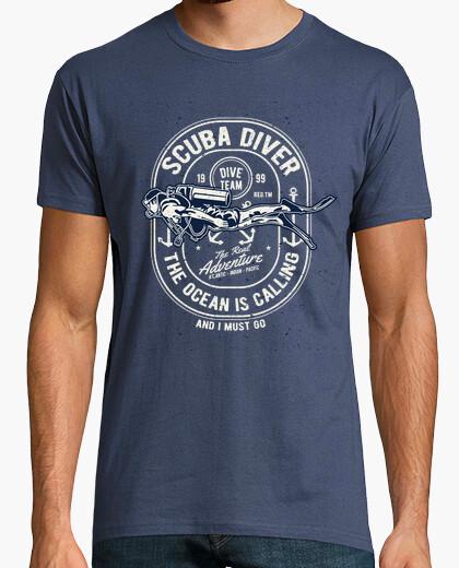 Camiseta Scuba Diver