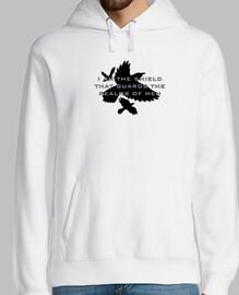 scudo del hoodie uomini regno