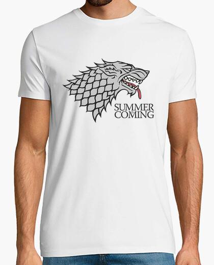 Camiseta se acerca el verano