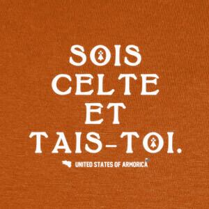 Tee-shirts Sé celta y cállate