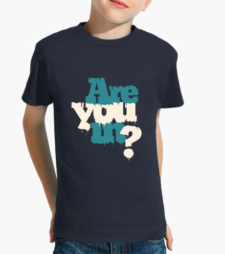 Ropa infantil se encuentra usted? camiseta niño