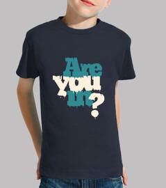 se encuentra usted? camiseta niño