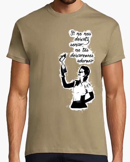T-shirt se facciamo soniar non deixatz non tossire deixare