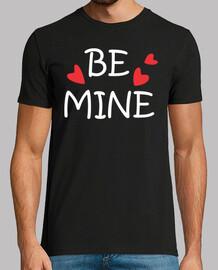 Sé mío, en este día de San Valentín. Be