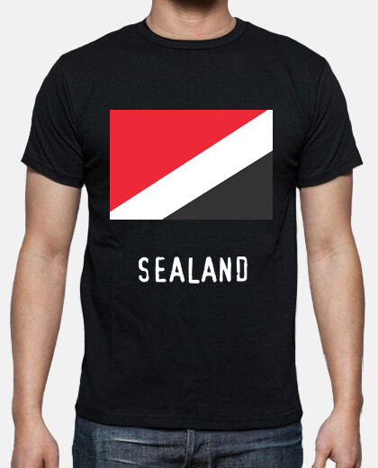 Camisetas Sealand flag