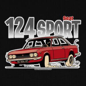 Camisetas SEAT 124 SPORT