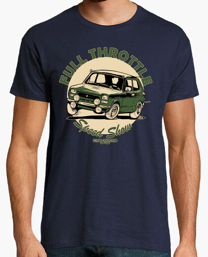 Camiseta Seat 127 1º FULL THROTTLE