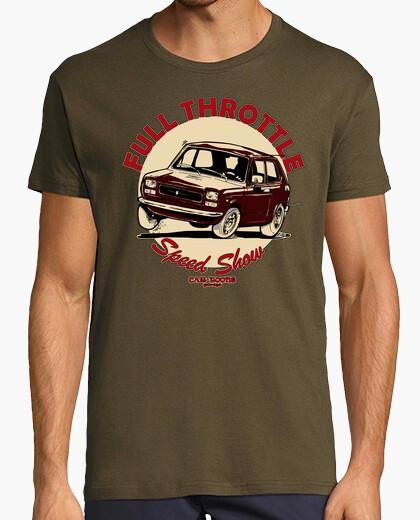 Seat 127 1st full throttle garnet t-shirt