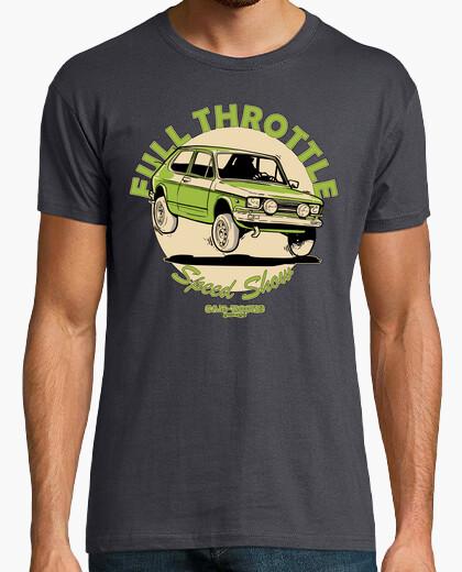 Camiseta Seat 127 2º FULL THROTTLE (Pistacho)