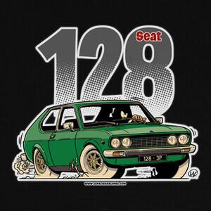 Camisetas SEAT 128 VERDE