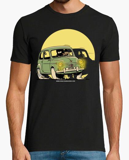 Camiseta SEAT 600 VERDE OSCURO LUZ