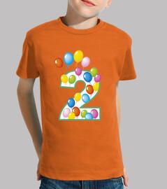 secondo Compleanno numero due