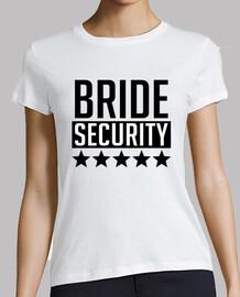 sécurité de la mariée