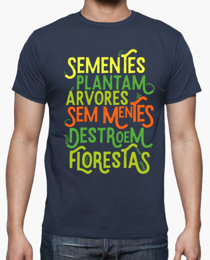 Seeds plantam trees - cor t-shirt