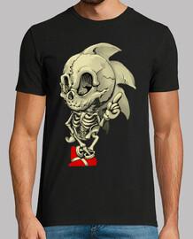 Sega Esqueleto camisetas friki