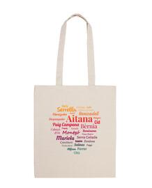 seghe per sacchetti di tela di alicante # 3
