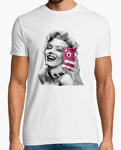 Camiseta Selfie Marilyn