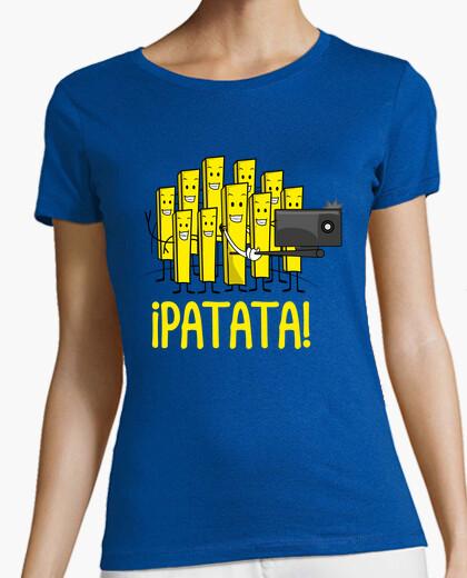 T-shirt selfie patata