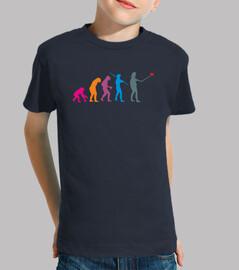 Selfievolution - camiseta niño