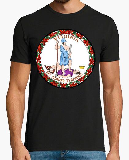 Camiseta sello estatal de virginia