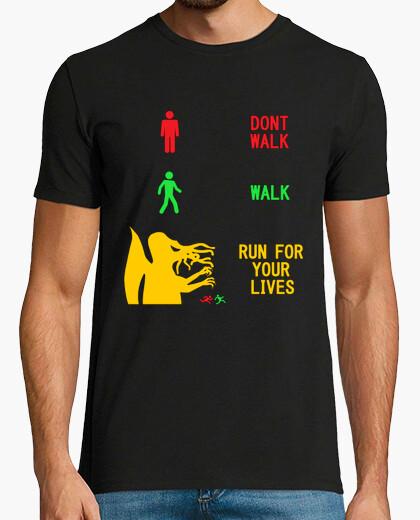 Camiseta Semáforo primigenio - run for your lives