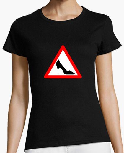 Camiseta Señal Zapato Femenino