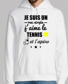 sencillo chico tenis apéro