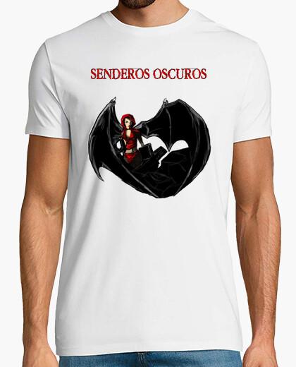 Senderos Oscuros - Camiseta Chico