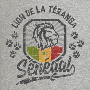 T-shirt senegal leon de teranga