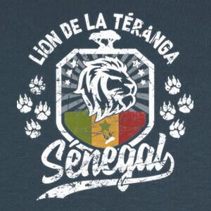 Tee-shirts senegal leon de teranga