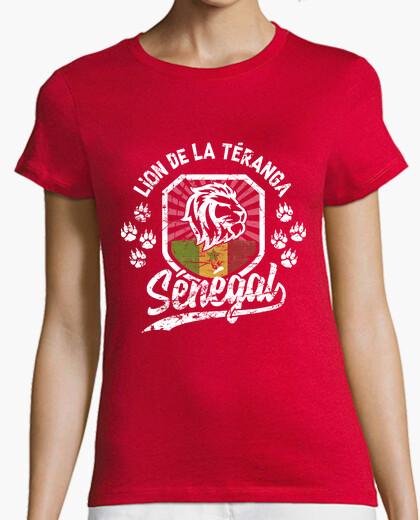 Senegal lion of teranga t-shirt