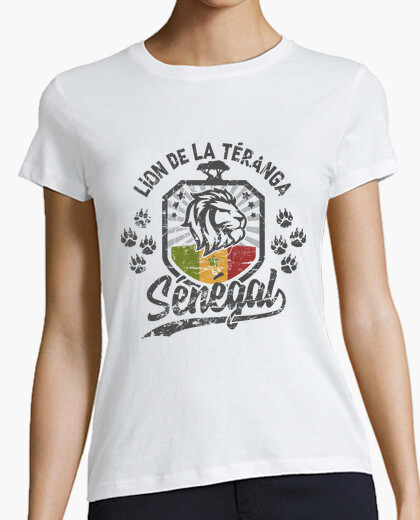 Senegal lion of teranga t-shirt