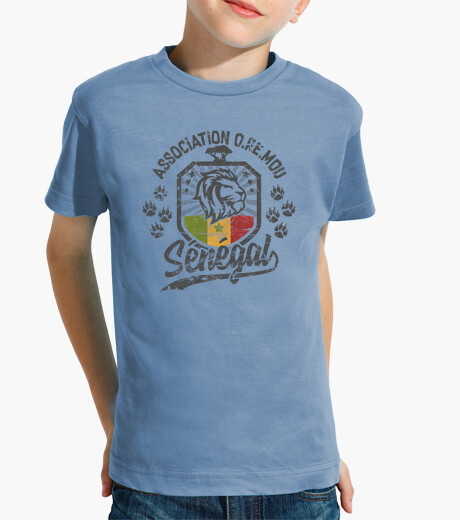 Senegal lion terra oremou kids clothes