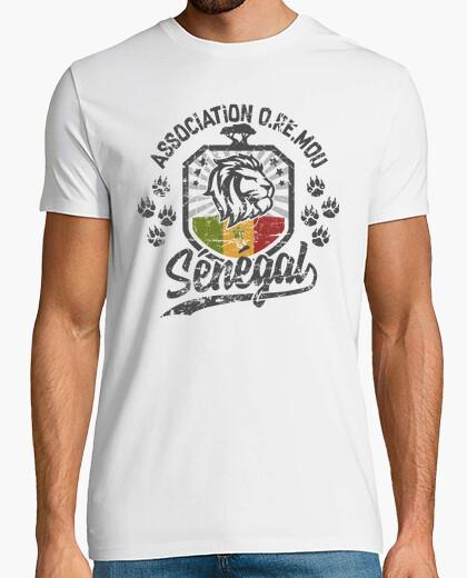 Senegal lion terra oremou t-shirt